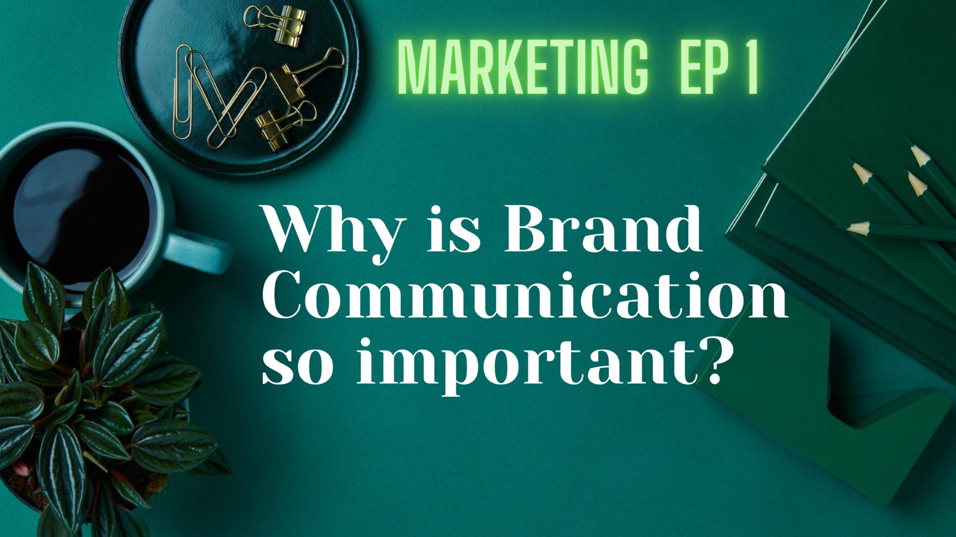 You are currently viewing การสื่อสารเพื่อสร้างตราผลิตภัณฑ์มีความสำคัญอย่างไร